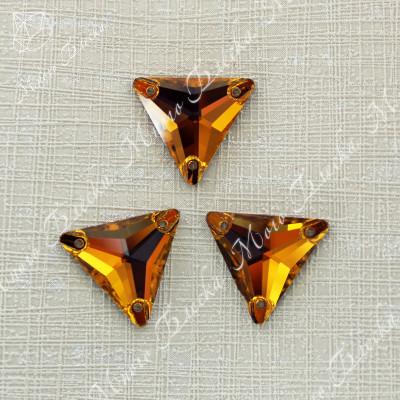 """Треугольник """"Топаз"""" 16мм SGA crystalls"""