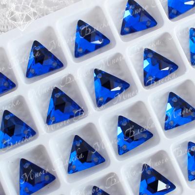 "Треугольник-мозаика ""Капри блю"" 12мм SGA crystalls"