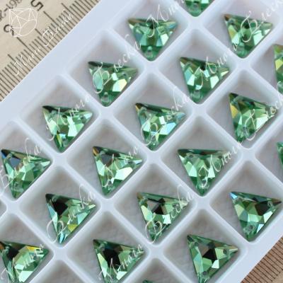 "Треугольник-мозаика ""Перидот"" 12мм SGA crystalls"