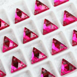 "Треугольник-мозаика ""Рубин"" 12мм SWA crystalls"