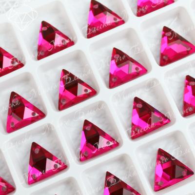 "Треугольник-мозаика ""Рубин"" 12мм SGA crystalls"