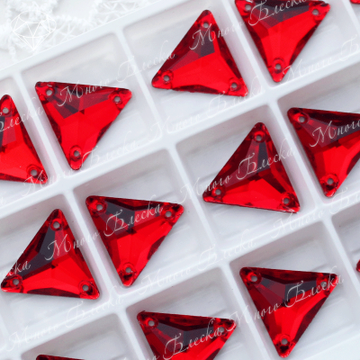 "Треугольник ""Сиам лайт"" 16мм SGA crystalls"