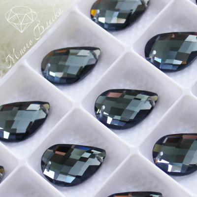 """Капля R 14*21мм """"Блэк даймонд"""" SGA crystalls"""