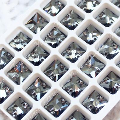 """Квадрат """"Блэк даймонд"""" 10мм SGA crystalls"""