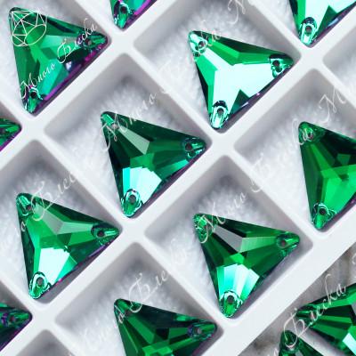 """Треугольник """"Эмералд"""" 16мм SGA crystalls"""