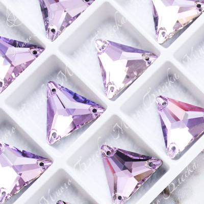 """Треугольник Вайолет"""" 16мм SGA crystalls"""
